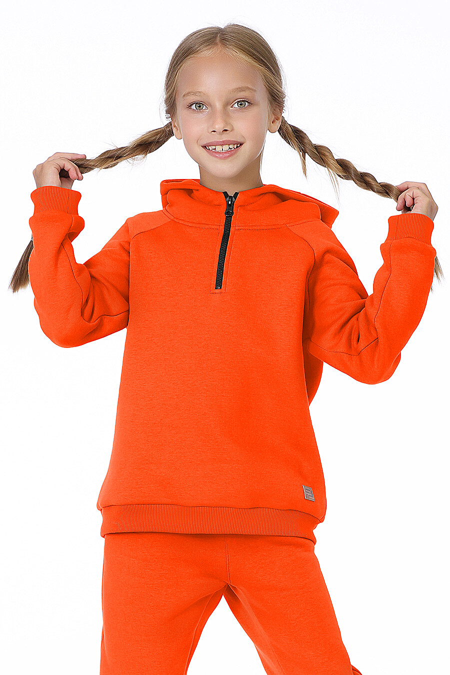 Костюм(Худи+Брюки) для девочек EZANNA 700332 купить оптом от производителя. Совместная покупка детской одежды в OptMoyo
