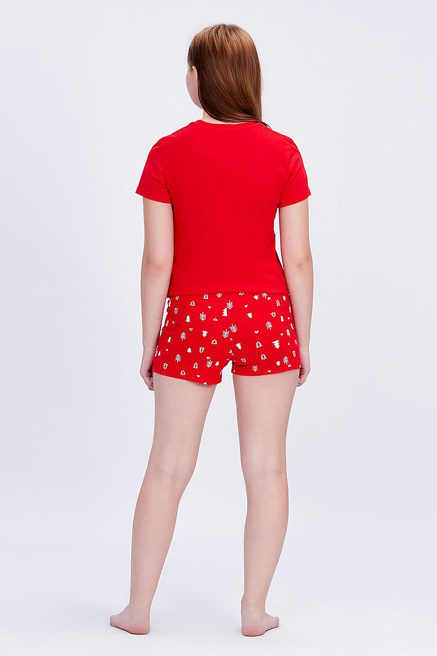 Комплект (Футболка+Шорты) для девочек ROXY FOXY 707355 купить оптом от производителя. Совместная покупка детской одежды в OptMoyo