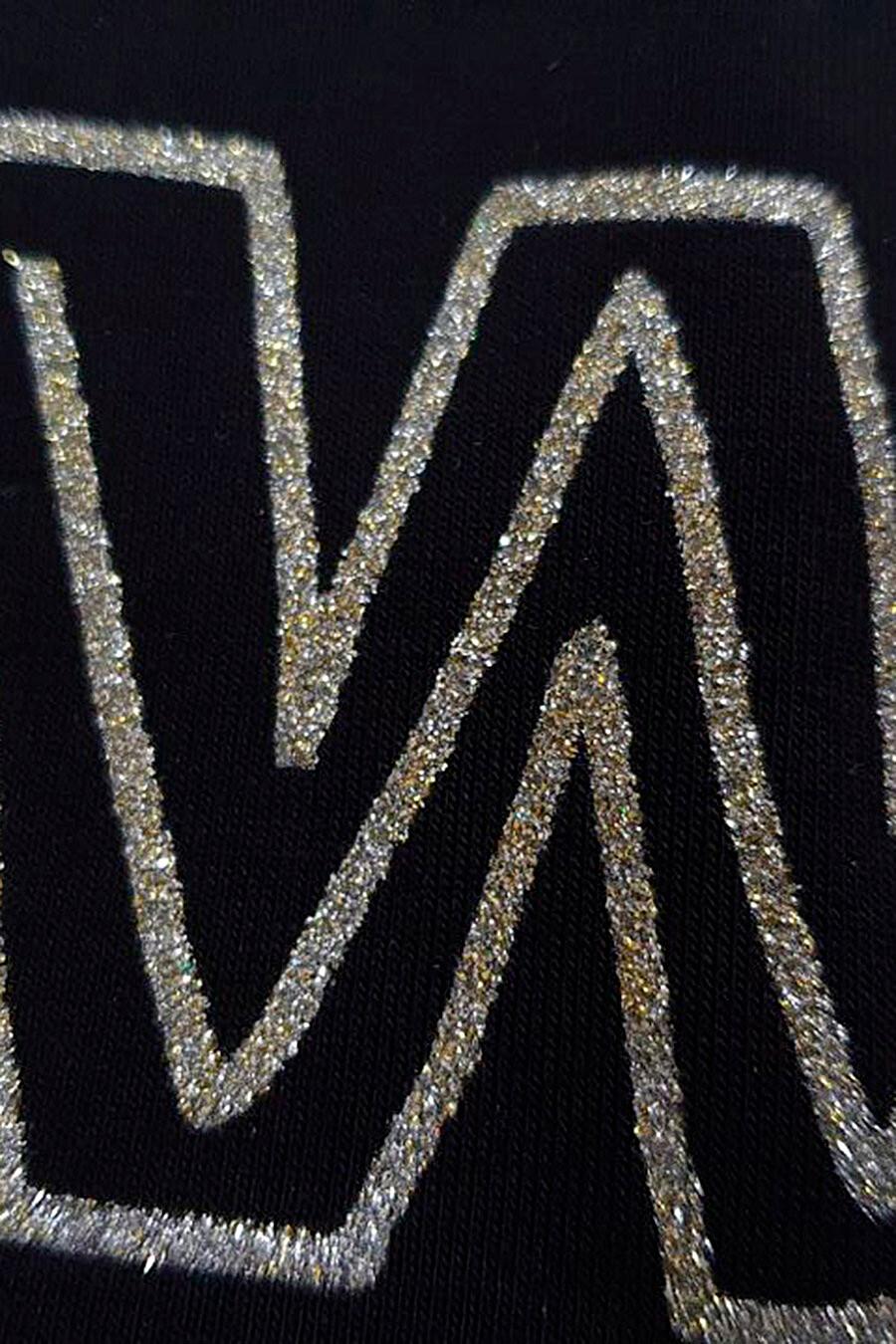 Футболка для женщин VILATTE 707556 купить оптом от производителя. Совместная покупка женской одежды в OptMoyo