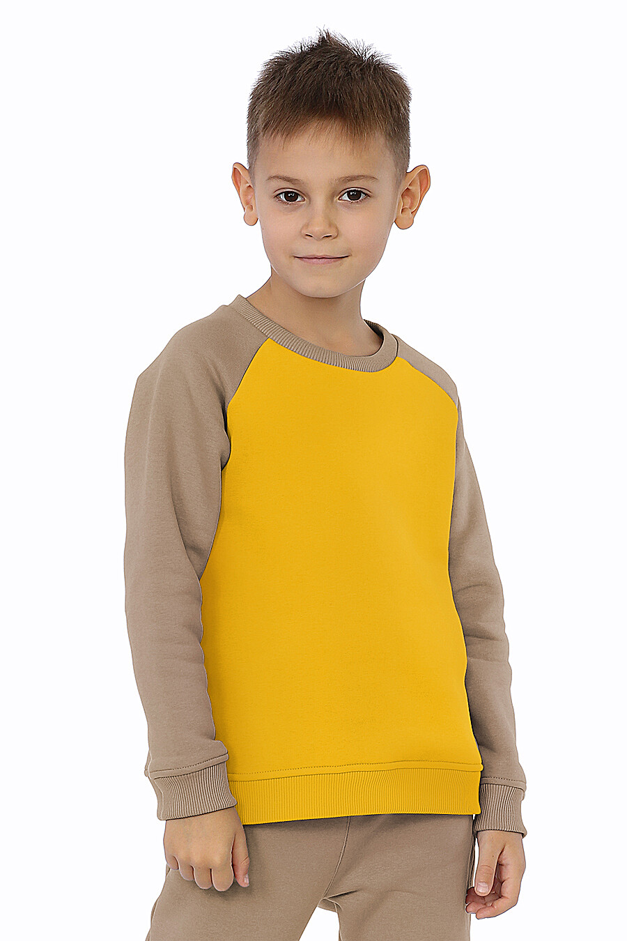 Костюм(Свитшот+Брюки) для мальчиков EZANNA 707560 купить оптом от производителя. Совместная покупка детской одежды в OptMoyo
