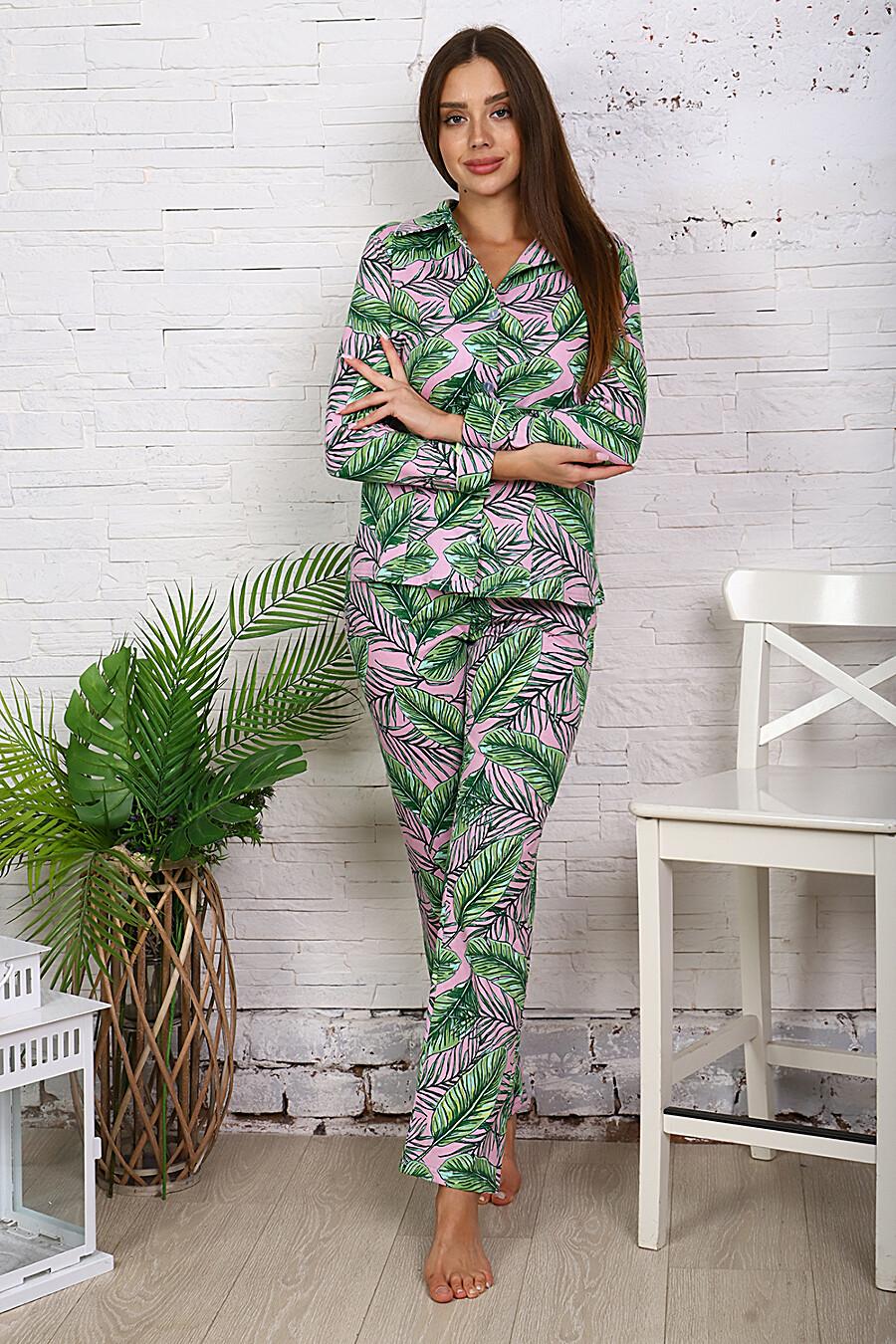 Пижама 11620 для женщин НАТАЛИ 707710 купить оптом от производителя. Совместная покупка женской одежды в OptMoyo