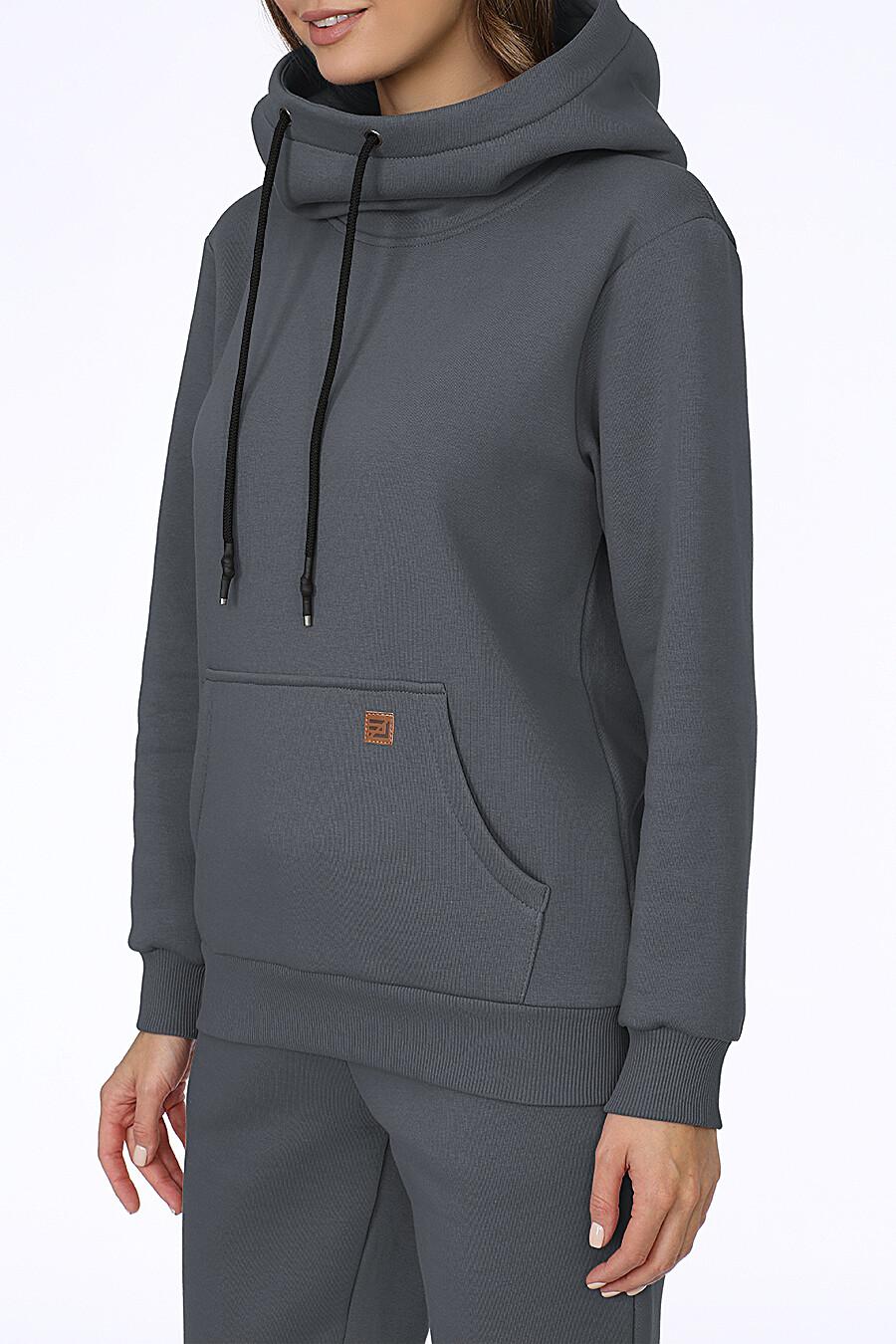 Худи для женщин EZANNA 707945 купить оптом от производителя. Совместная покупка женской одежды в OptMoyo