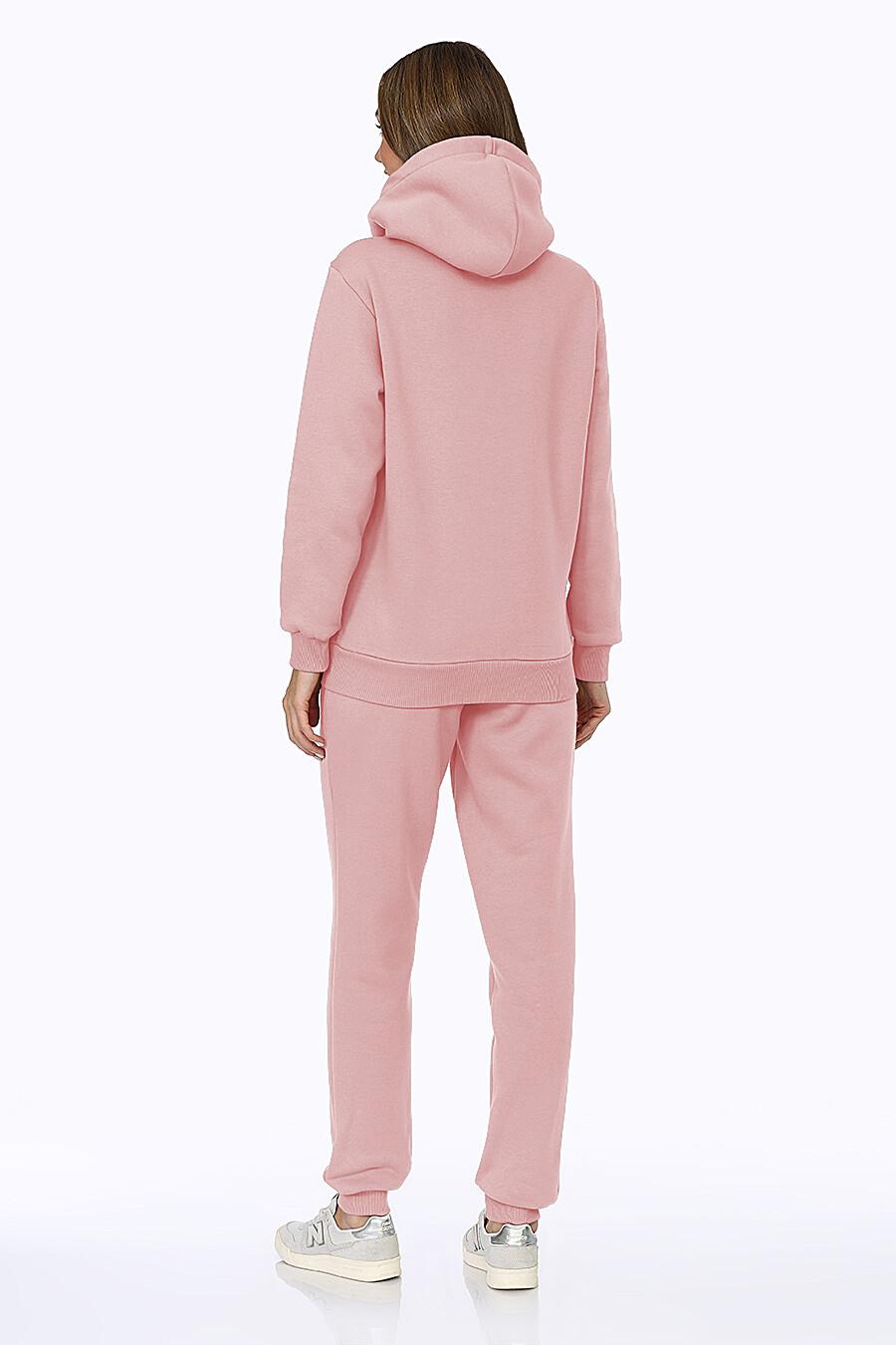 Костюм (Брюки+Худи) для женщин EZANNA 707990 купить оптом от производителя. Совместная покупка женской одежды в OptMoyo