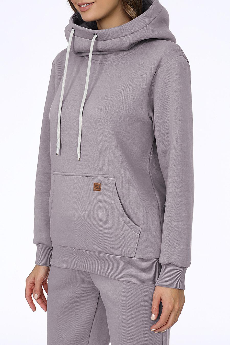 Костюм (Брюки+Худи) для женщин EZANNA 707995 купить оптом от производителя. Совместная покупка женской одежды в OptMoyo