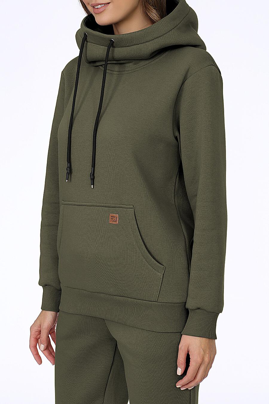 Костюм (Брюки+Худи) для женщин EZANNA 707997 купить оптом от производителя. Совместная покупка женской одежды в OptMoyo