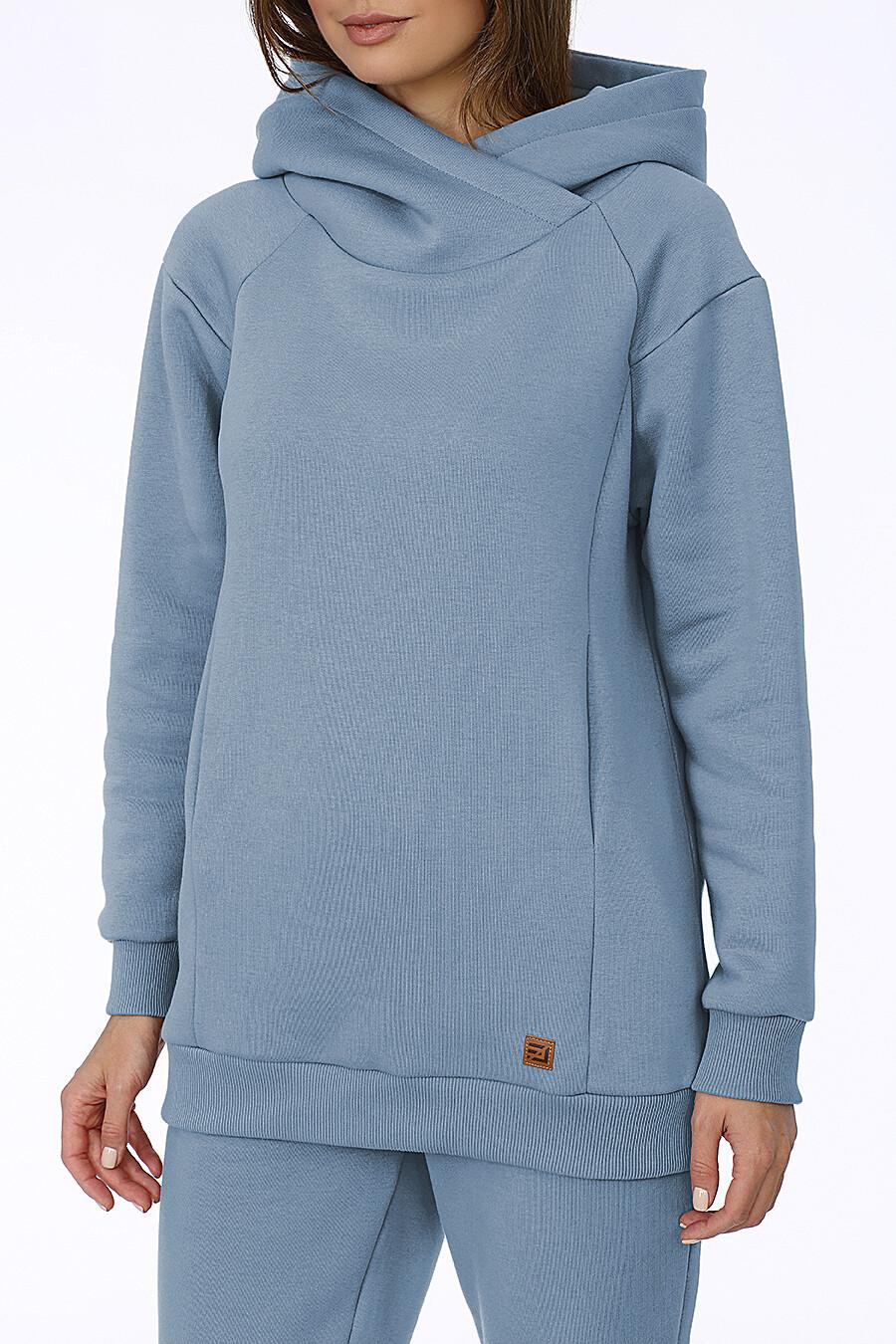 Худи для женщин EZANNA 708518 купить оптом от производителя. Совместная покупка женской одежды в OptMoyo