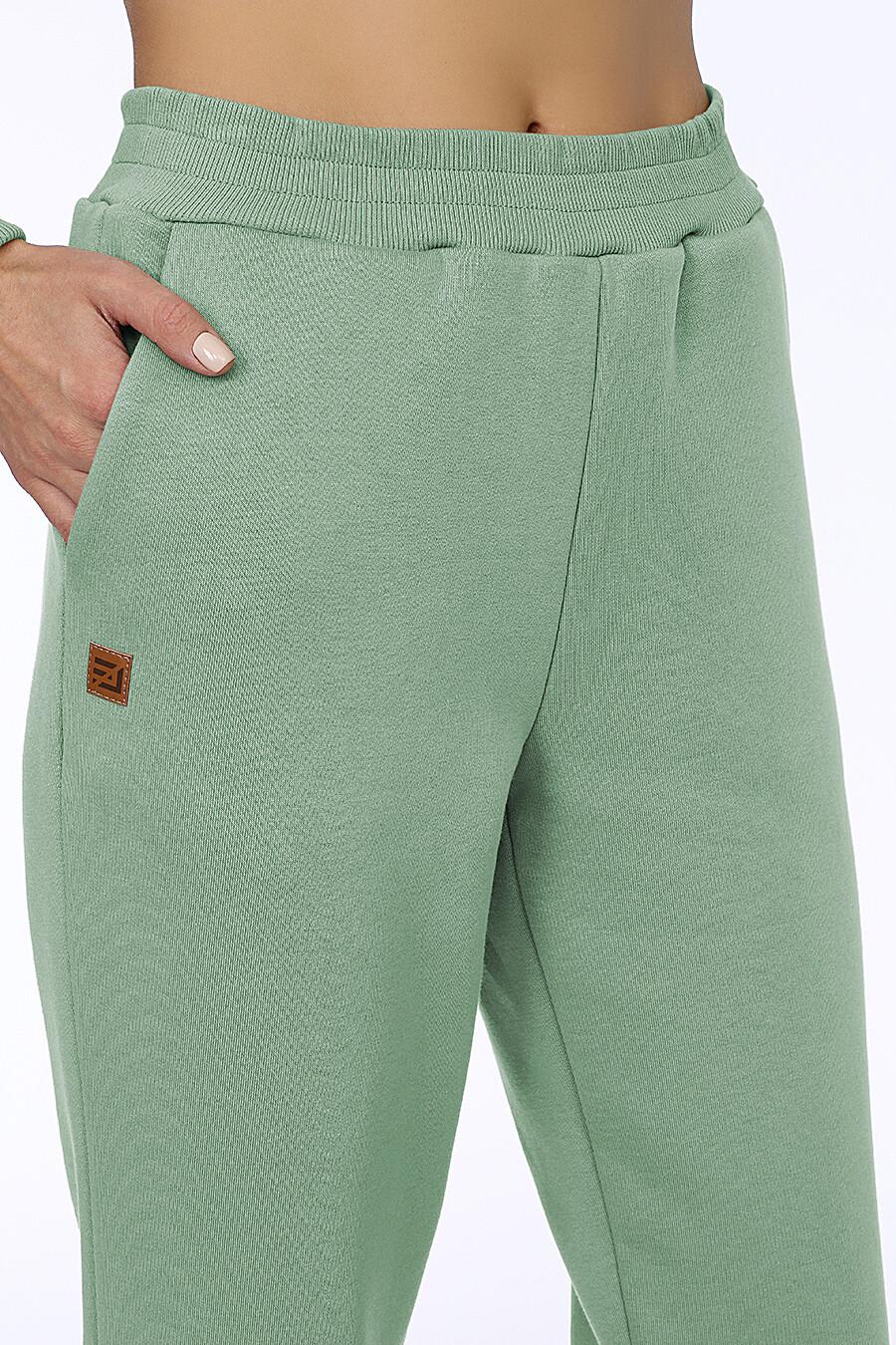 Костюм (Брюки+Худи) для женщин EZANNA 708532 купить оптом от производителя. Совместная покупка женской одежды в OptMoyo