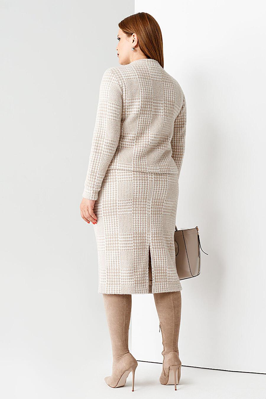 Комплект (Джемпер+Юбка) для женщин PANDA 708636 купить оптом от производителя. Совместная покупка женской одежды в OptMoyo