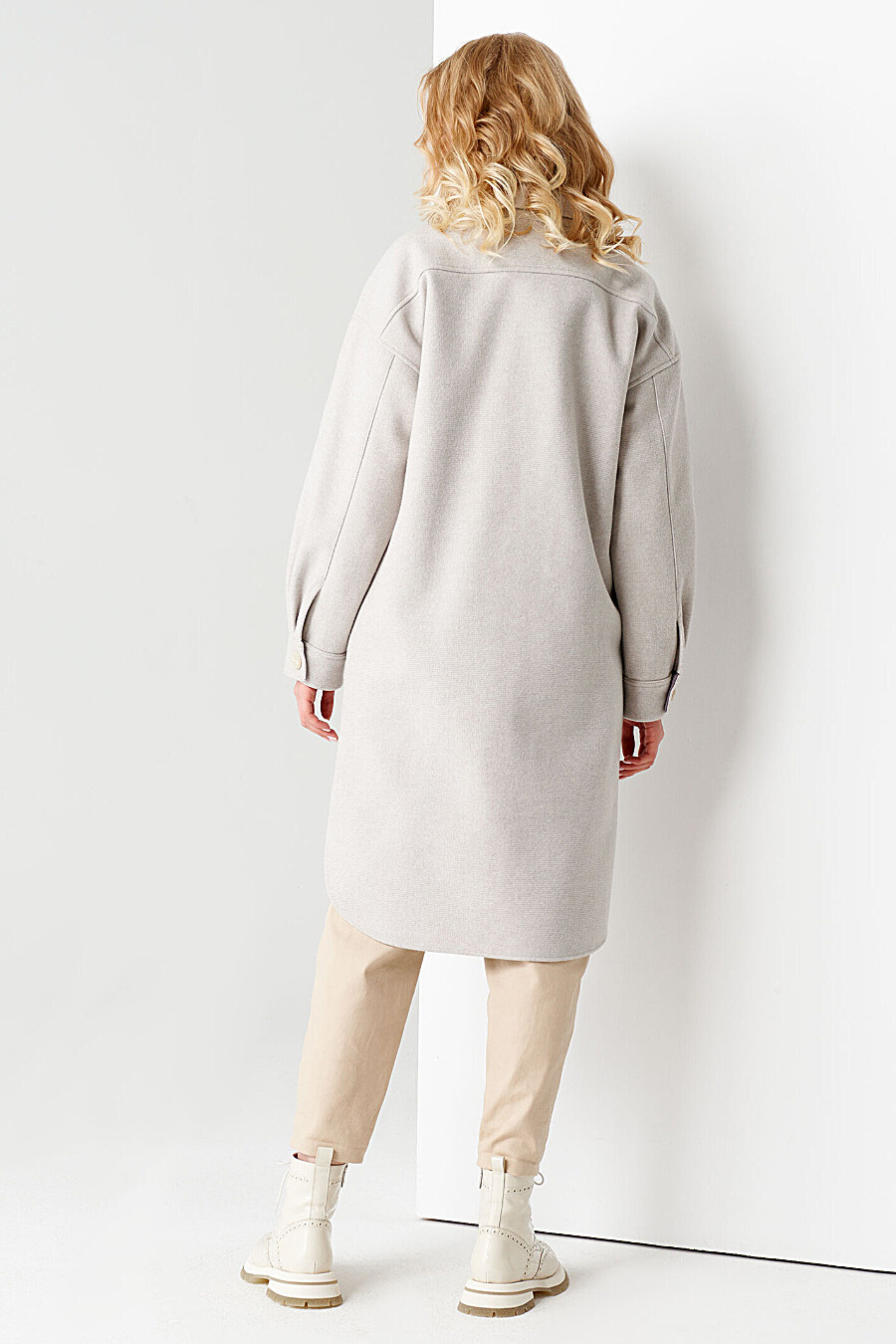 Пальто для женщин PANDA 708637 купить оптом от производителя. Совместная покупка женской одежды в OptMoyo