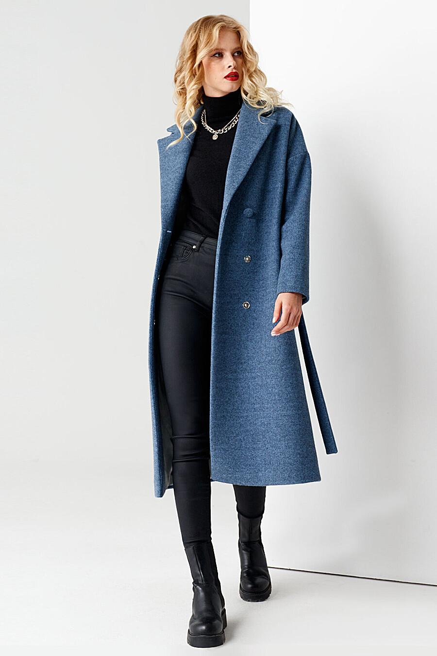 Пальто для женщин PANDA 708639 купить оптом от производителя. Совместная покупка женской одежды в OptMoyo