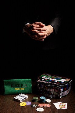 """Набор для игры в покер """"Большая игра"""" Nothing Shop"""
