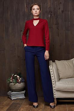 Блузка с v-образным вырезом MERSADA