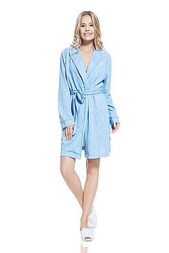 Короткий халат с запахом MERSADA