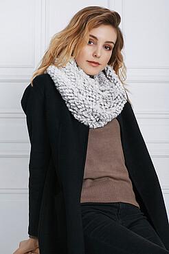 Меховый шарф Полночь в Париже Nothing But Love