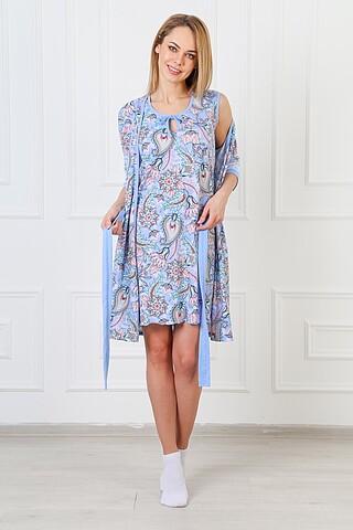 Комплект (Сорочка+Халат) ELIZA