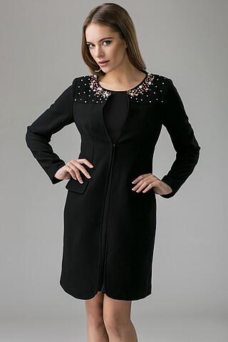 Костюм: платье и пальто MERSADA
