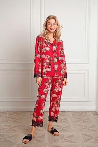 Пижама (Брюки+Рубашка) INDEFINI