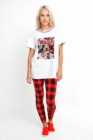 Костюм (футболка+лосины) CLEVER