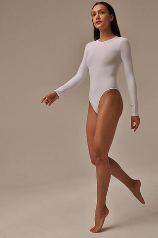 MY Боди женское BO296 BODY MAGLIA GIROCOLLO TONDO (1/68) (bianco (белый) MY