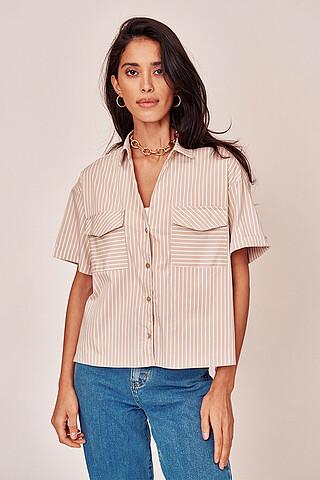Блуза-рубашка VITTORIA VICCI