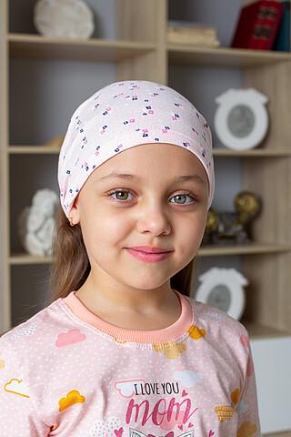 "Косынка ""Цветочки"" д.д ДЕТСКИЙ ТРИКОТАЖ 37"