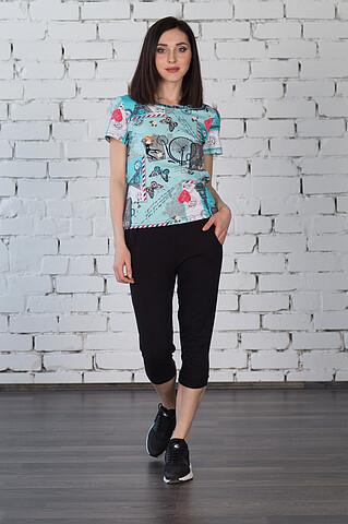 Костюм (футболка+бриджи) RAPOSA