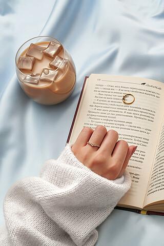 """Кольцо """"Любовь на кончиках пальцев"""" MERSADA"""