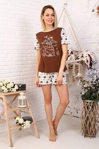 Пижама (Шорты+футболка) СОФИЯ37
