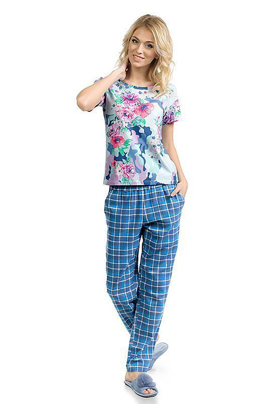 Пижама (Брюки+Футболка) #111438