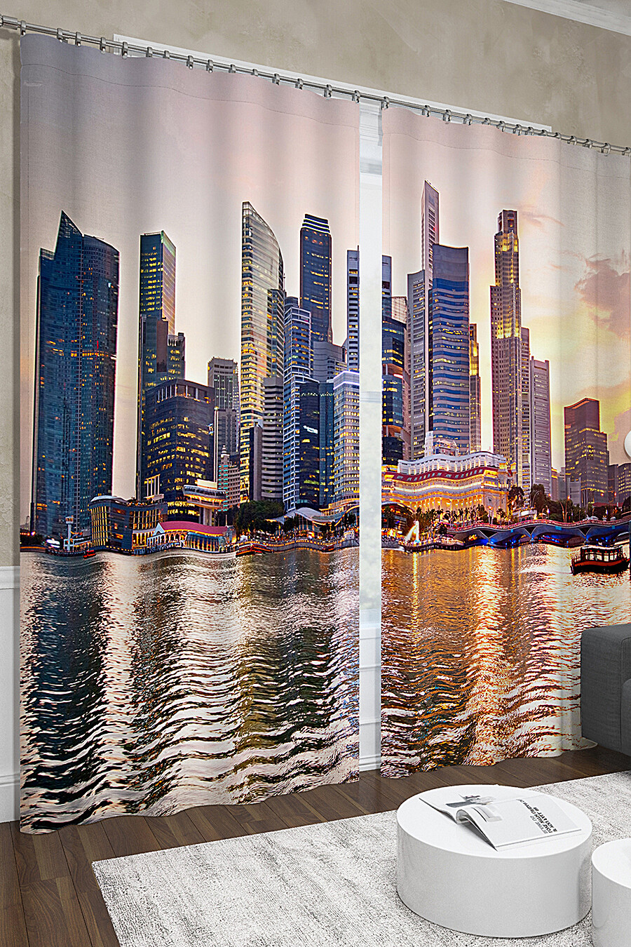 Фотошторы для дома ART HOME TEXTILE 123545 купить оптом от производителя. Совместная покупка товаров для дома в OptMoyo
