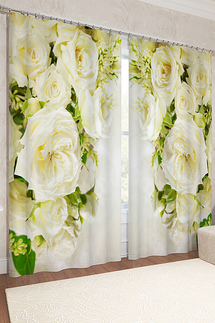 Фотошторы для дома ART HOME TEXTILE 123860 купить оптом от производителя. Совместная покупка товаров для дома в OptMoyo