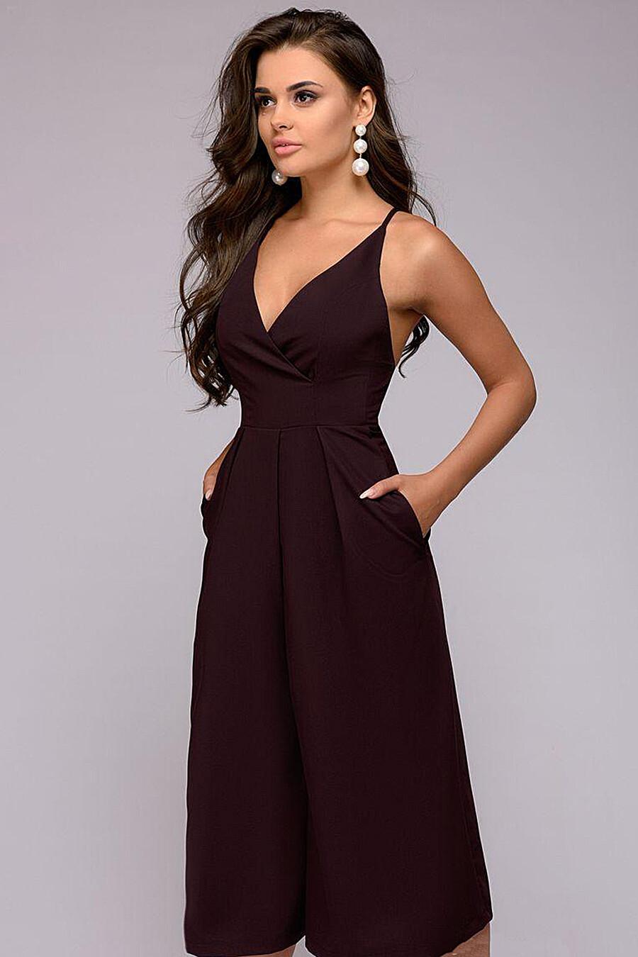 Комбинезон для женщин 1001 DRESS 130679 купить оптом от производителя. Совместная покупка женской одежды в OptMoyo