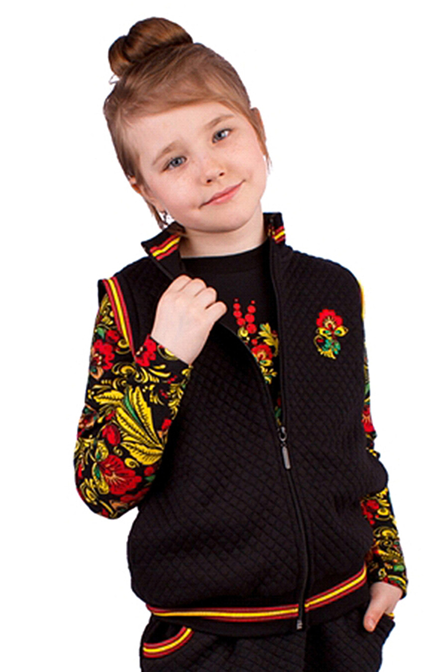 Джемпер для девочек Archi 130769 купить оптом от производителя. Совместная покупка детской одежды в OptMoyo