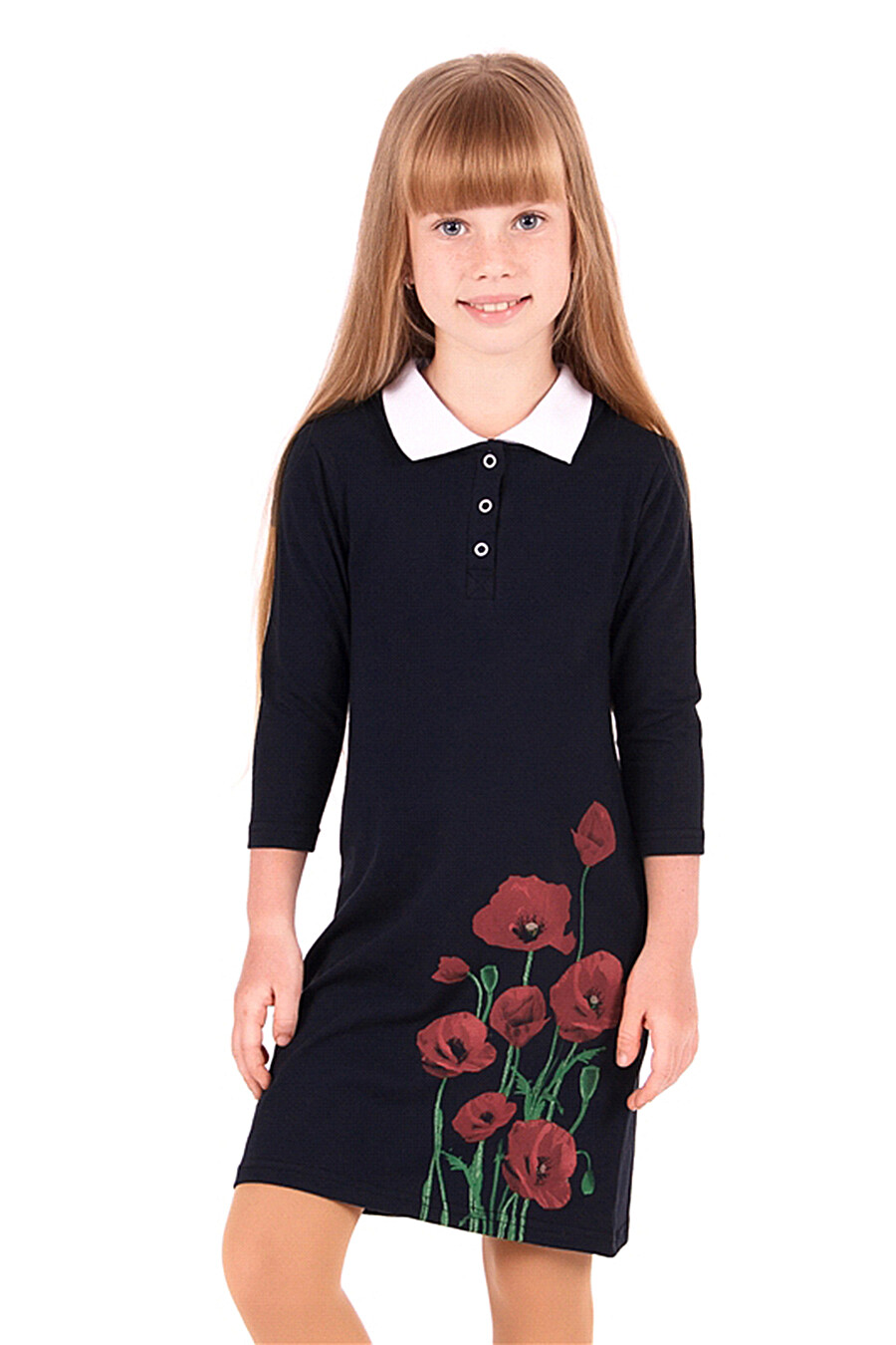 Платье для девочек Archi 131024 купить оптом от производителя. Совместная покупка детской одежды в OptMoyo
