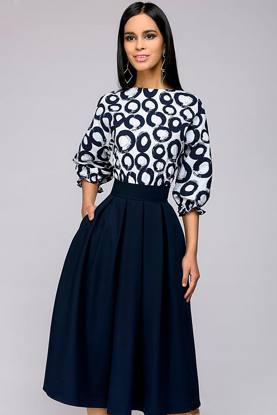 Платье для женщин 1001 DRESS 131054 купить оптом от производителя. Совместная покупка женской одежды в OptMoyo