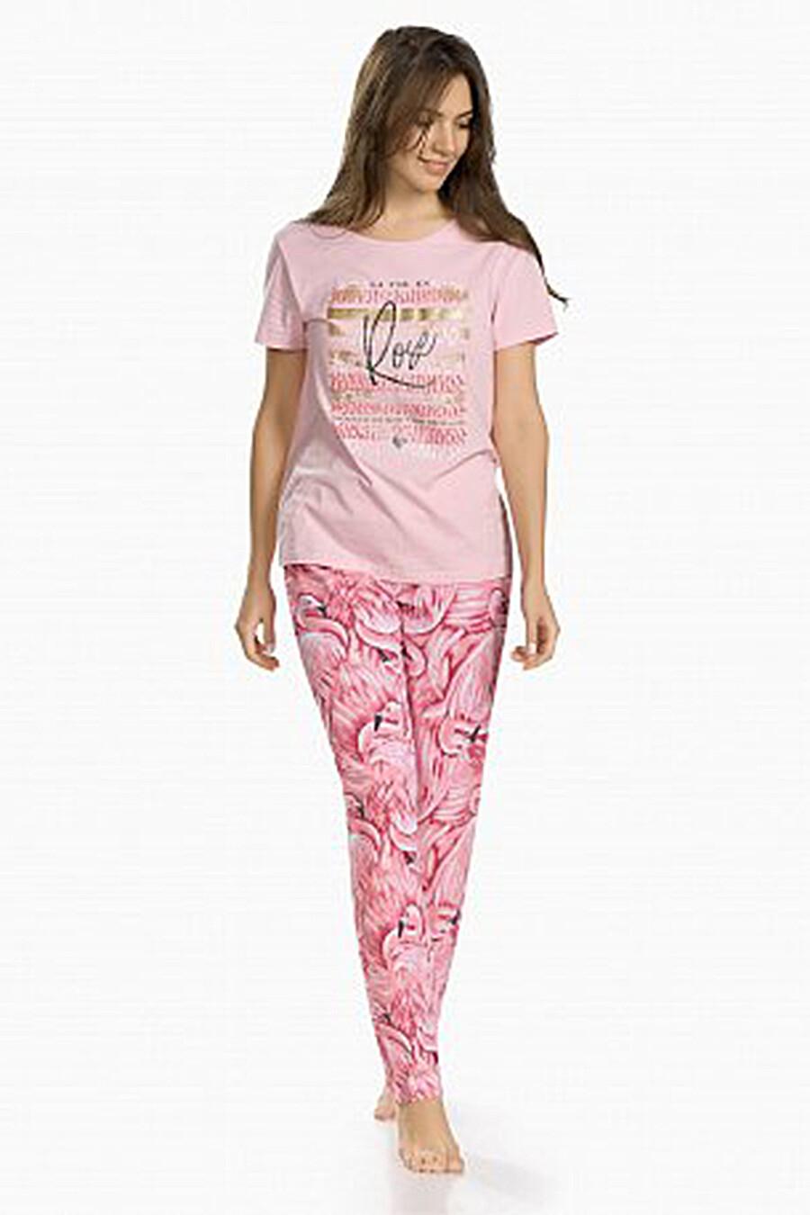 Комплект (Брюки+Футболка) для женщин PELICAN 131279 купить оптом от производителя. Совместная покупка женской одежды в OptMoyo