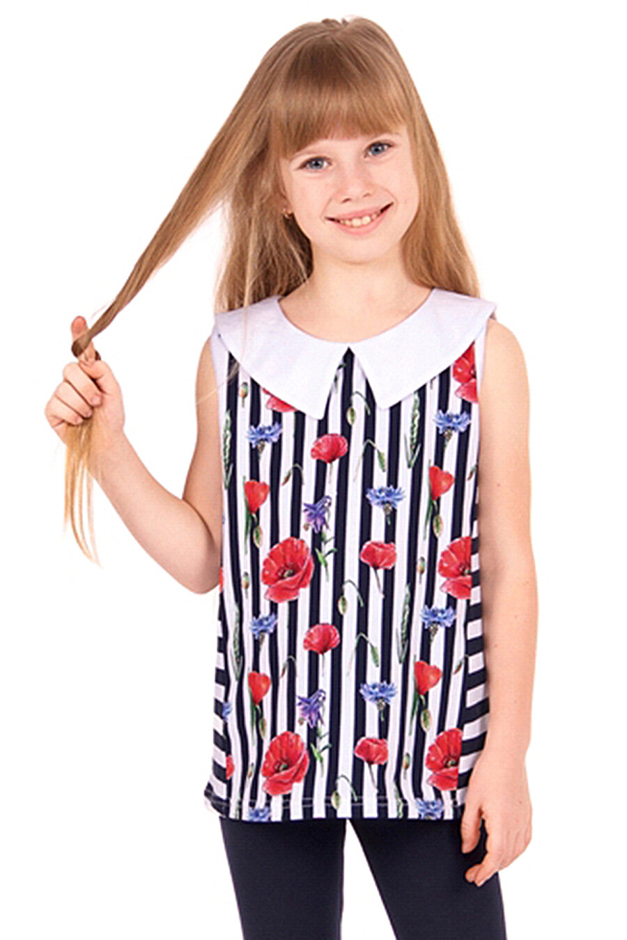 Джемпер для девочек Archi 131507 купить оптом от производителя. Совместная покупка детской одежды в OptMoyo
