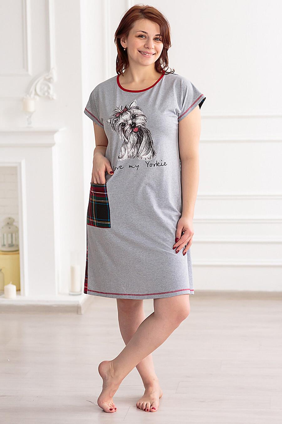 Платье домашнее АМАДЭЛЬ (140645), купить в Optmoyo.ru