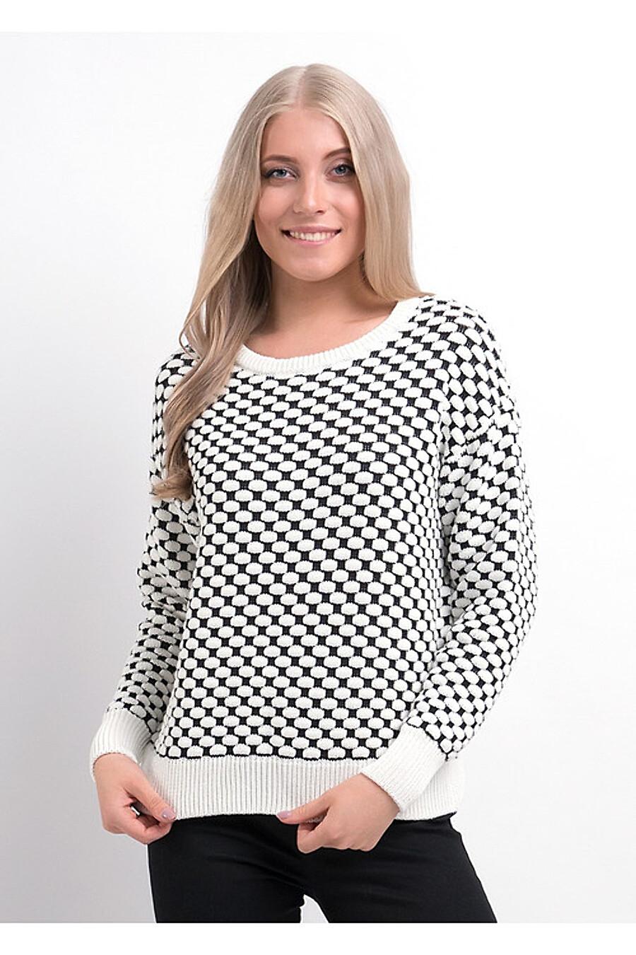 Джемпер для женщин CLEVER 155164 купить оптом от производителя. Совместная покупка женской одежды в OptMoyo