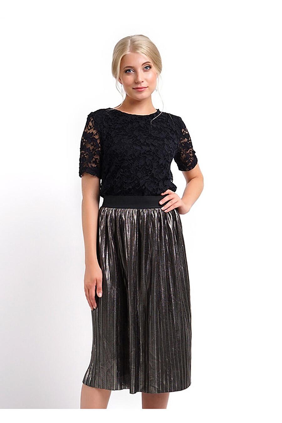 Юбка для женщин CLEVER 155171 купить оптом от производителя. Совместная покупка женской одежды в OptMoyo