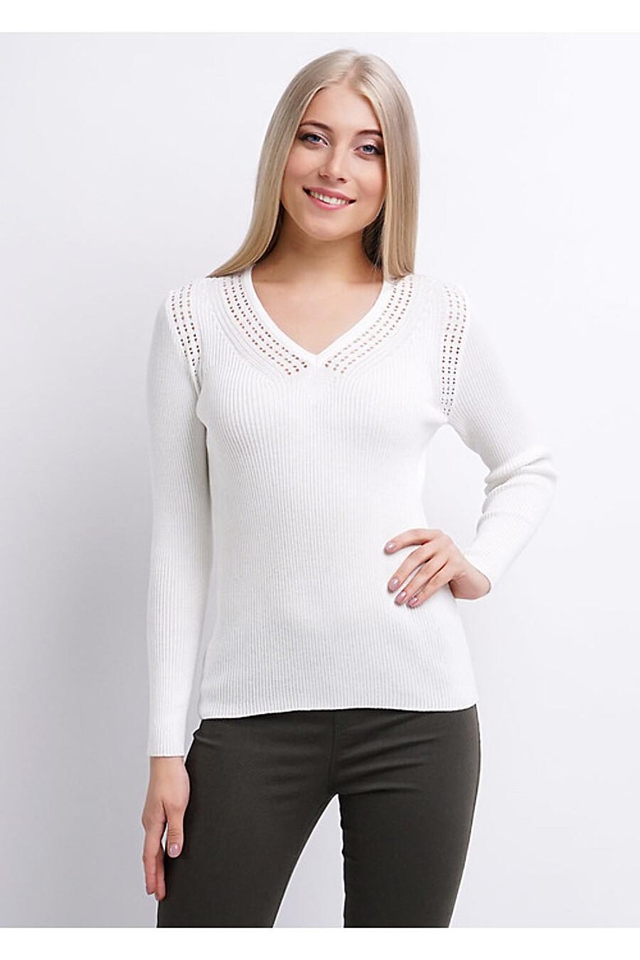 Джемпер для женщин CLEVER 155373 купить оптом от производителя. Совместная покупка женской одежды в OptMoyo