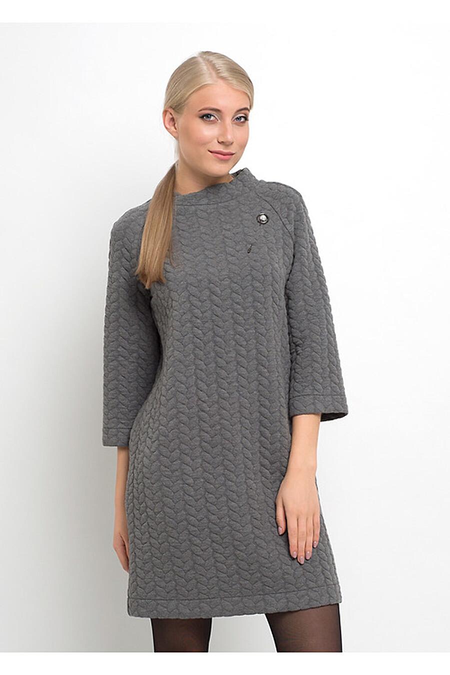 Платье для женщин CLEVER 155378 купить оптом от производителя. Совместная покупка женской одежды в OptMoyo