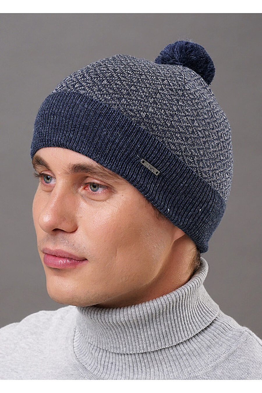 Шапка для мужчин CLEVER 155399 купить оптом от производителя. Совместная покупка мужской одежды в OptMoyo