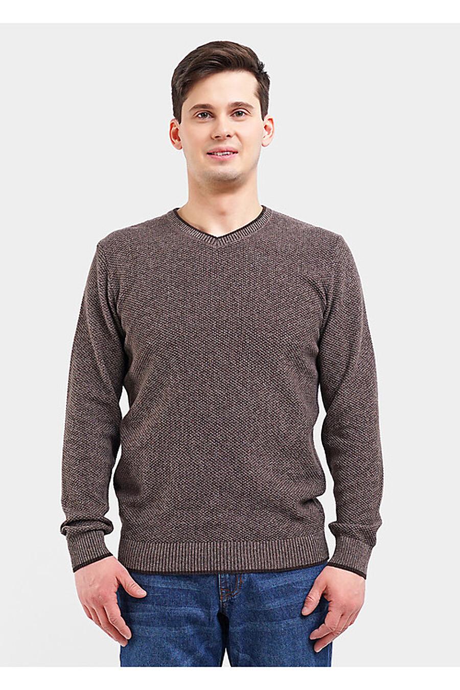 Джемпер для мужчин CLEVER 155471 купить оптом от производителя. Совместная покупка мужской одежды в OptMoyo