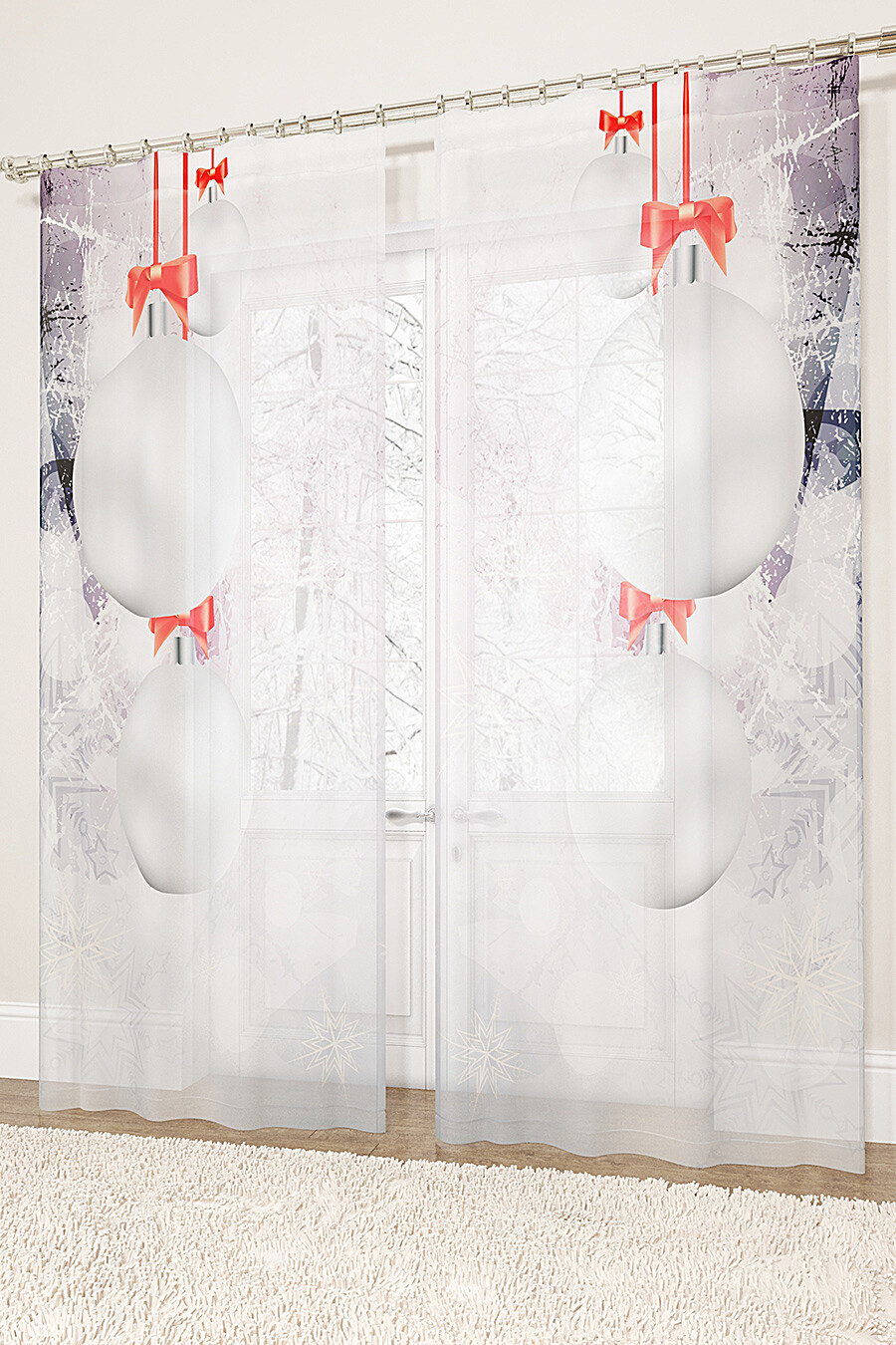 Фототюль для дома ART HOME TEXTILE 155702 купить оптом от производителя. Совместная покупка товаров для дома в OptMoyo