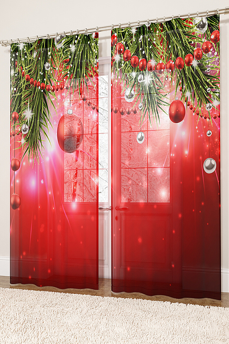 Фототюль для дома ART HOME TEXTILE 155720 купить оптом от производителя. Совместная покупка товаров для дома в OptMoyo
