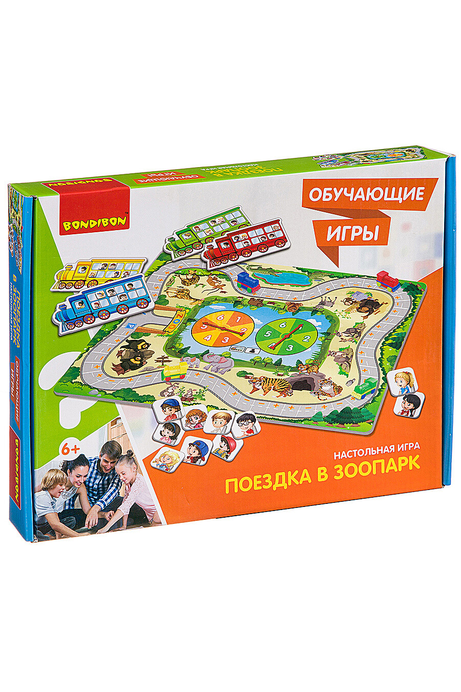 Обучающая игра для детей BONDIBON 157595 купить оптом от производителя. Совместная покупка игрушек в OptMoyo