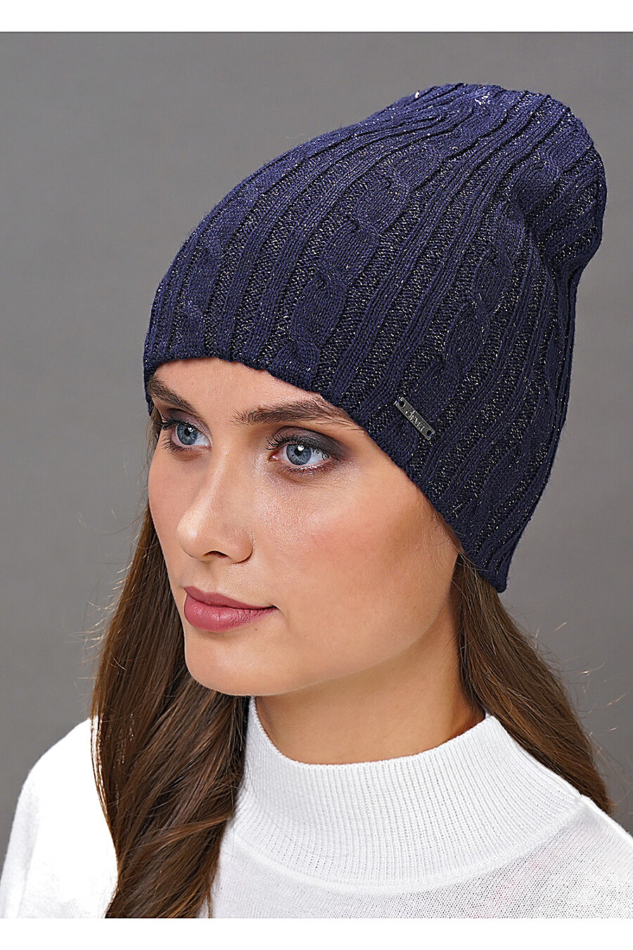 Шапка для женщин CLEVER 158003 купить оптом от производителя. Совместная покупка женской одежды в OptMoyo