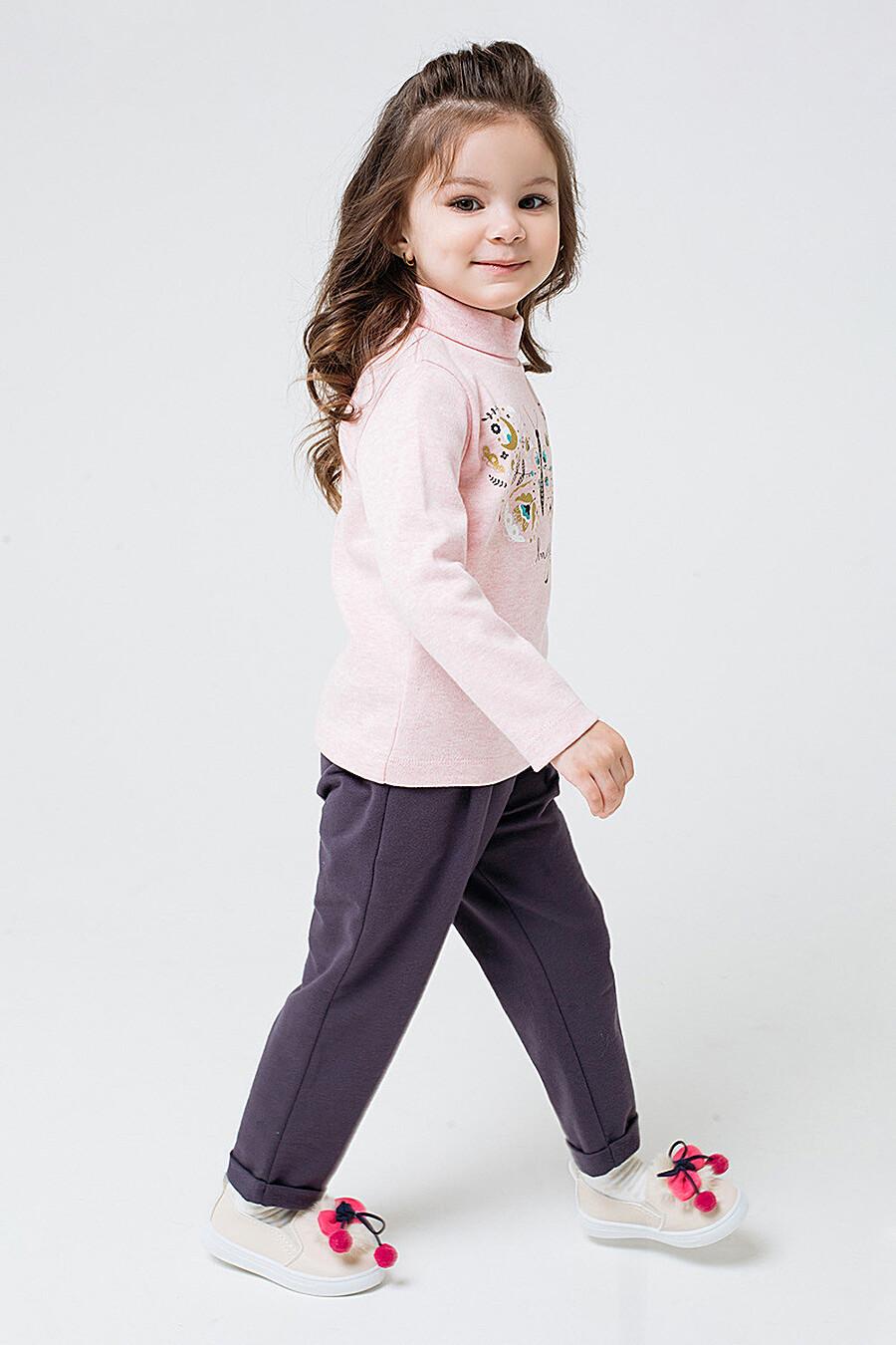 Брюки для девочек CROCKID 158702 купить оптом от производителя. Совместная покупка детской одежды в OptMoyo
