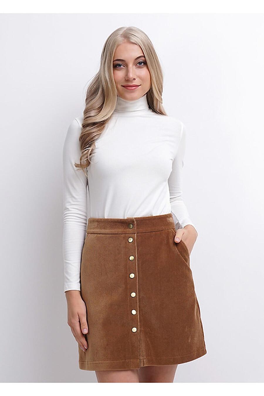 Юбка для женщин CLEVER 158774 купить оптом от производителя. Совместная покупка женской одежды в OptMoyo